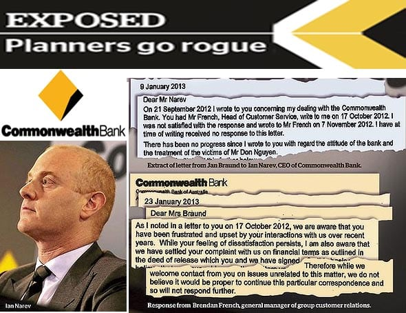 COMMONWEALTH BANK EXPOSED
