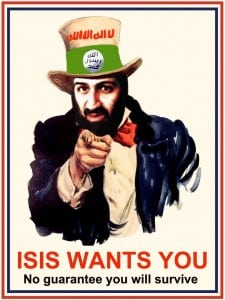 ISIS RECRUITING POSER SATIRE