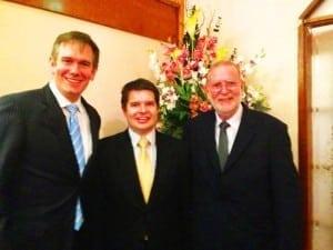 Tony Abbott dinner with Ross Fox and Greg Hannan