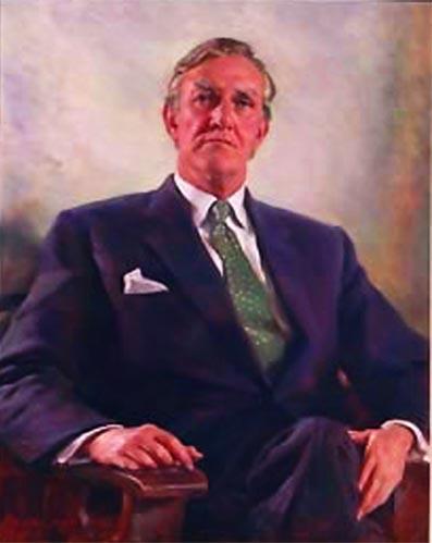 Malcolm Fraser Portrait