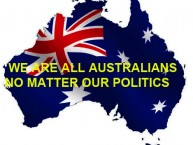 WE ARE ALL AUSTRALIANS